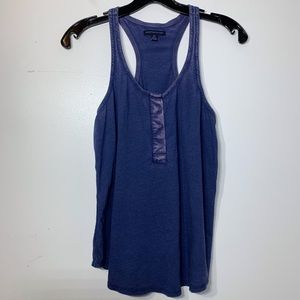 American Eagle Outfitters Blue Color Fade Tank Top